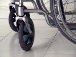 Wózek inwalidzki, niepełnosprawni